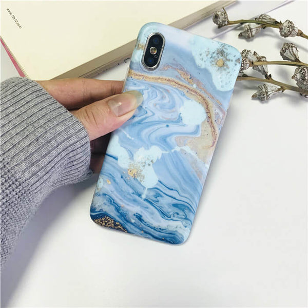 Wave pattern iPhone X Case
