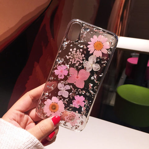 2020 Press Flower iphone 11 case Protective