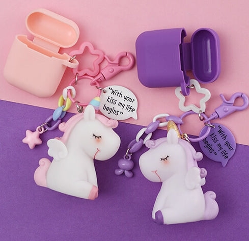 Cute Unicorn Airpods Case-colorulife.com
