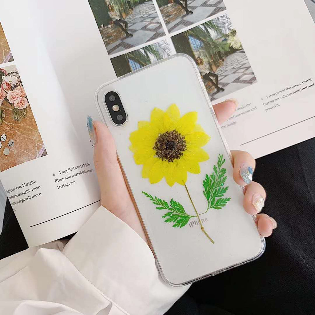 DIY Sunflower Phone Case iPhone xr