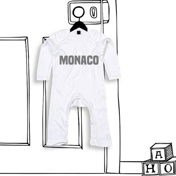 'LONG SLEEVED PERSONALISED ROMPER'