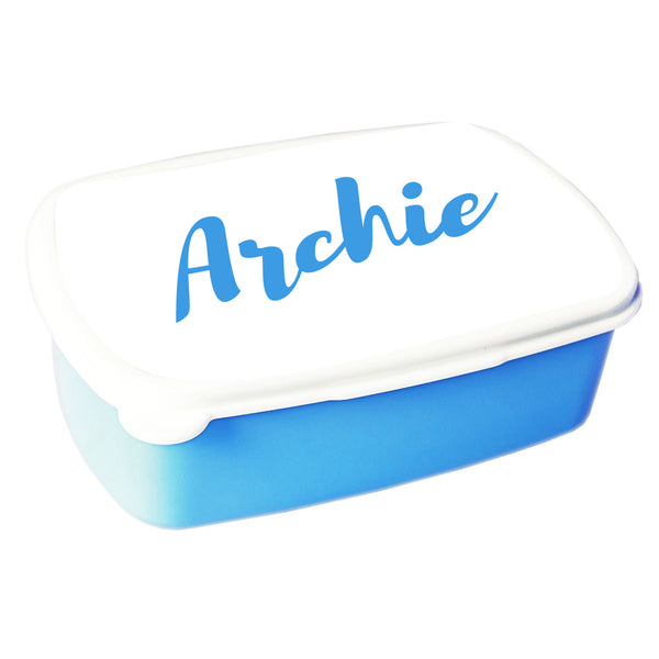 'PERSONALISED SNACK/SANDWICH BOX'
