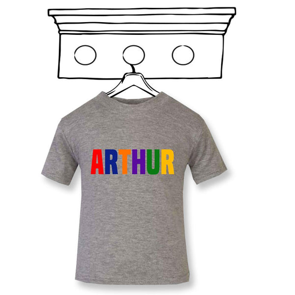 'PERSONALISED' PRIMARY NAME TEE