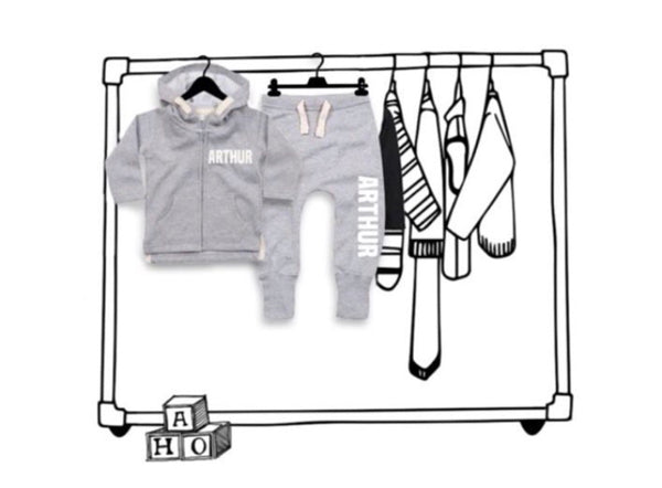 'PERSONALISED BABY/TODDLER UNISEX JOGGING SUIT'