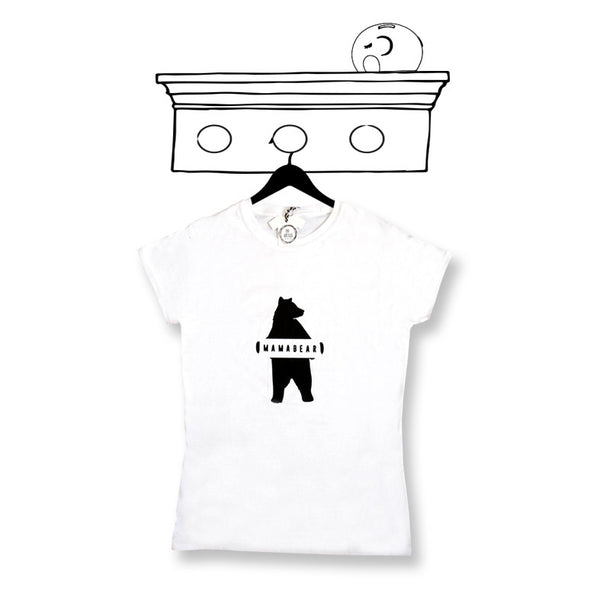 'MAMA BEAR' LADIES ADULT TEE