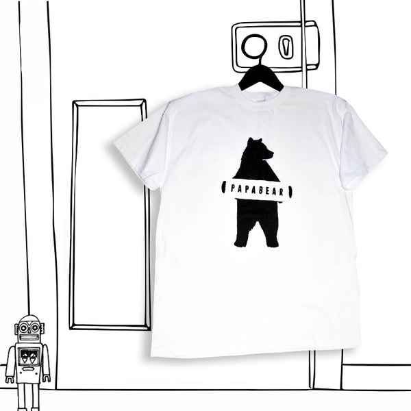 'PAPA BEAR' MENS ADULT TEE