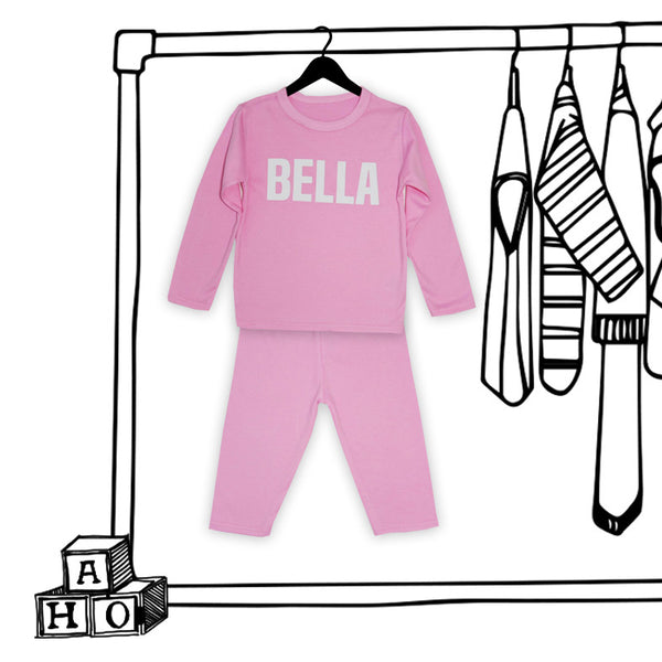 'PERSONALISED KIDS PJ'S'