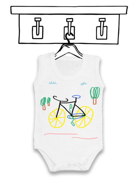 'BICYCLE' UNISEX BODY VEST