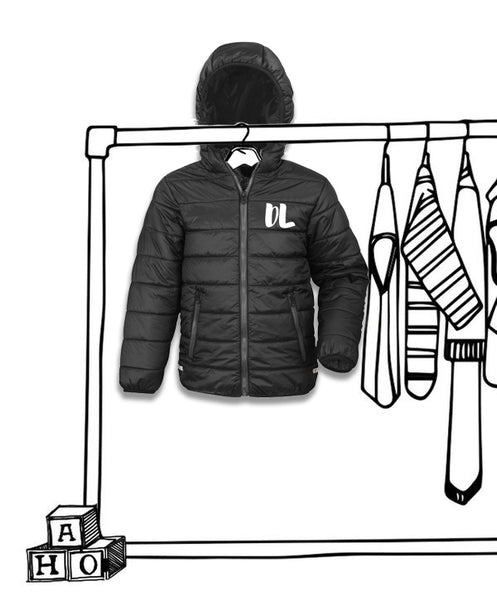 UNISEX 'PERSONALISED SOFT PADDED JACKET'