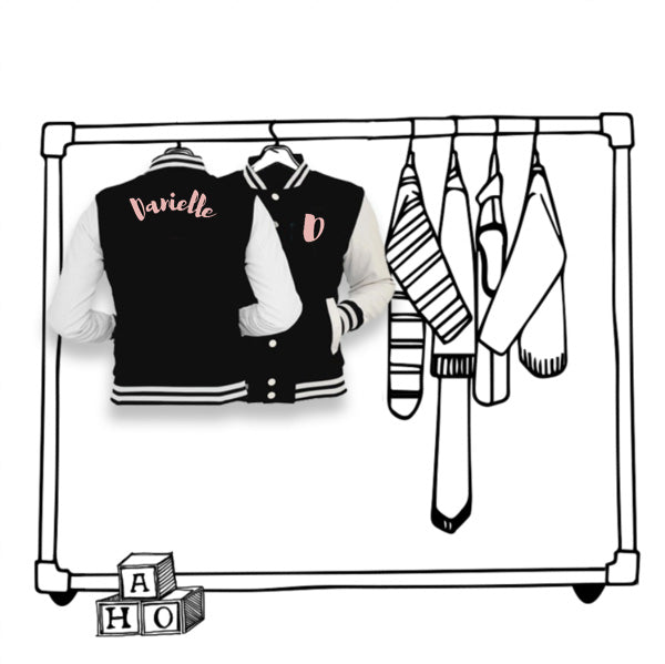 'PERSONALISED' UNISEX VARSITY JACKET