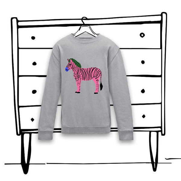 'ZIGGY ZEBRA' SWEATER