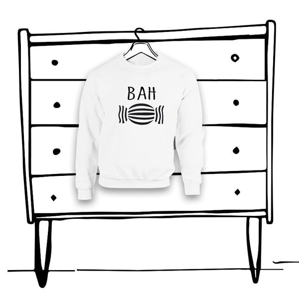 'BAH HUMBUG' KIDS SWEATER...