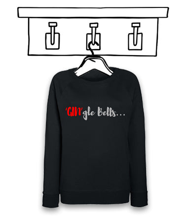 'GIN'gle BELLS' LADIES CHRISTMAS JUMPER...