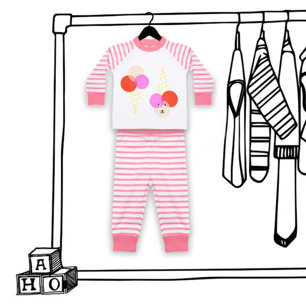 'ICE CREAM' UNISEX KIDS PJ'S