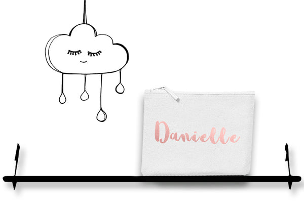 'PERSONALISED' MAKE UP/TOILETRY BAG