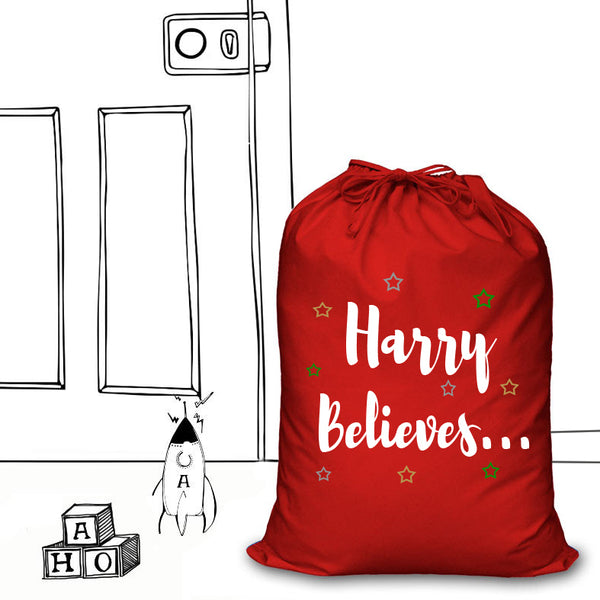 'PERSONALISED SANTA SACKS'...