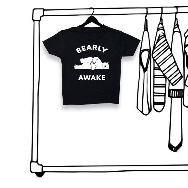 'BEARLY AWAKE' UNISEX TEE