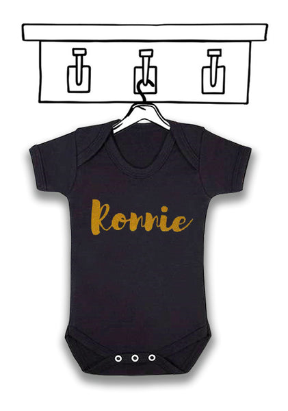 BABY 'PERSONALISED' UNISEX BODYSUIT