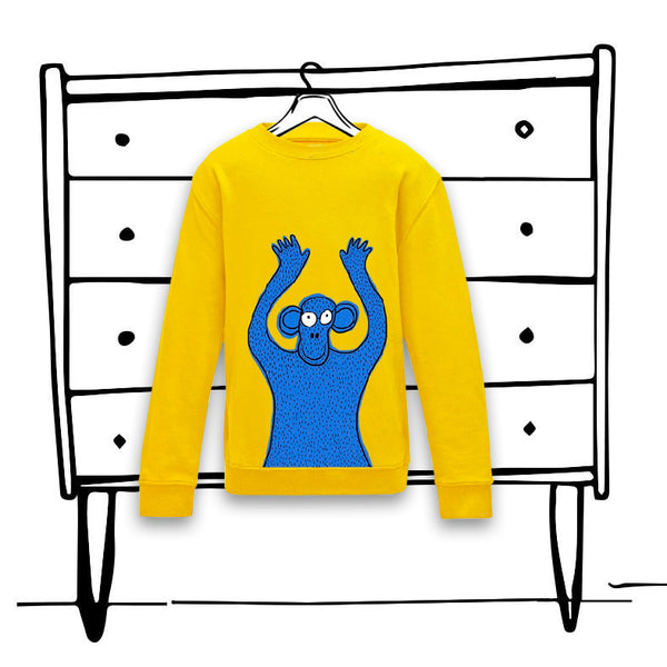 'CHEEKY MONKEY' SWEATER