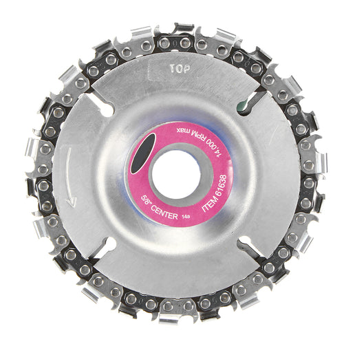 4 Inch Grinder Disc and Chain 22 Tooth