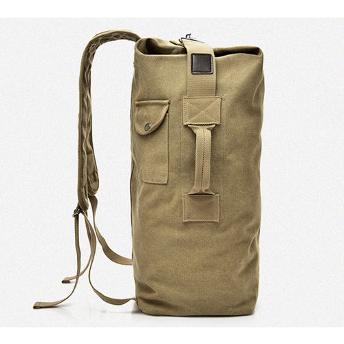 Multi-function Military Tactical Canvas Duffle