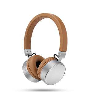 Leather Bluetooth Headphones