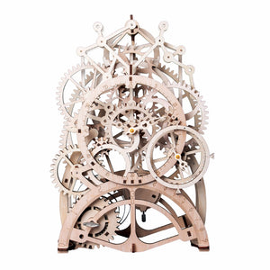 3D Clockwork Wooden