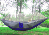 1-2 Person Hammock with Mosquito Net