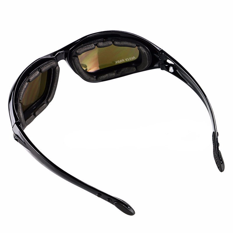Best Motorcycle Goggles with several glasses