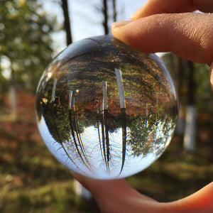 60mm Rare Clear Crystal Ball for Home Decoration