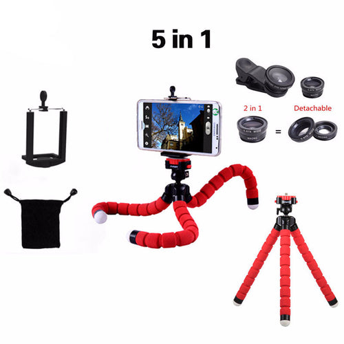 5in1 Tripod Lens Pack