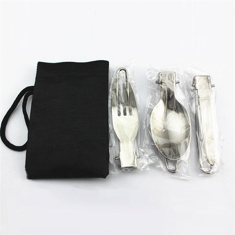 3 in 1 Portable Outdoor Camping Survival Set