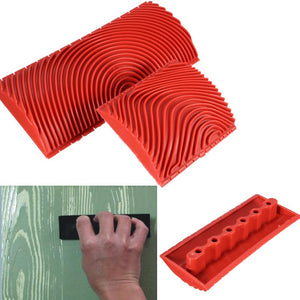 Wood Graining Pattern Painting Tool