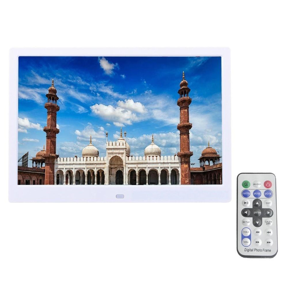 12 Inch HD Digital Photo Frame with Backlight and Music/Video ...
