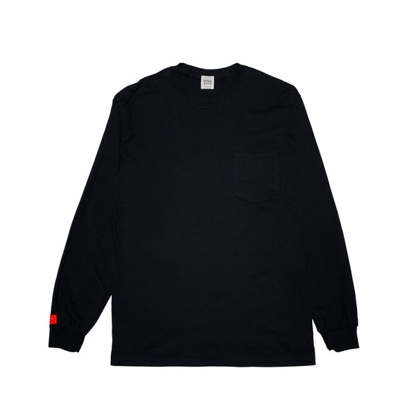 GB BLACK POCKET LONG SLEEVE w/Scratch Pedia