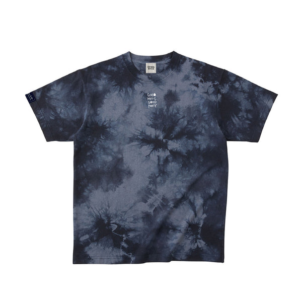 PARTiES Navy Tie Dye T-SHIRT