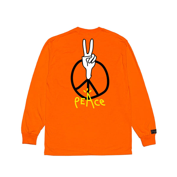 inspirationT-Peace SOR POCKET LONG SLEEVE