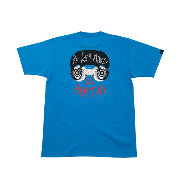 PARTiES Blue T-SHIRT