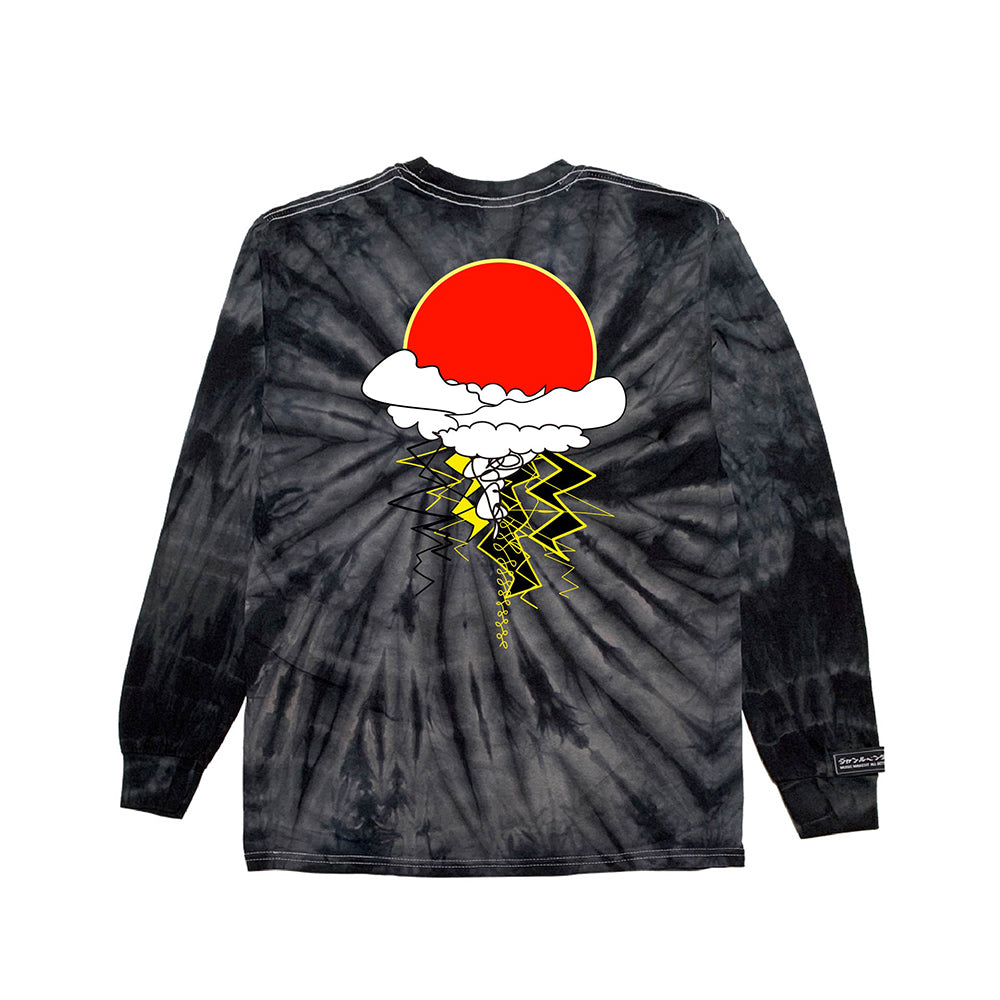 inspirationT-Awake BLK TIE DYE LONG SLEEVE
