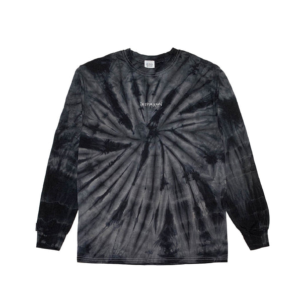 inspirationT-Peace BLK TIE DYE LONG SLEEVE