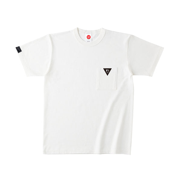 WHT POCKET T-SHIRT w/GMGP