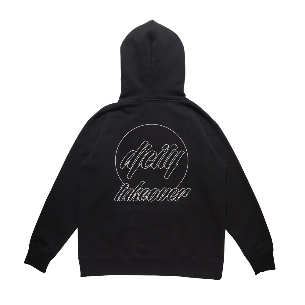 Limited DJcity TAKEOVER COLLAB BLK ZIP-UP
