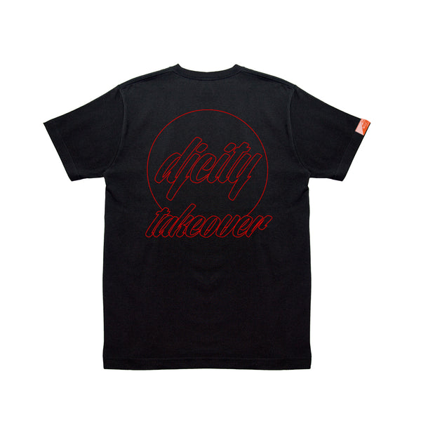 Limited DJcity TAKEOVER COLLAB  BLK2 T-SHIRT