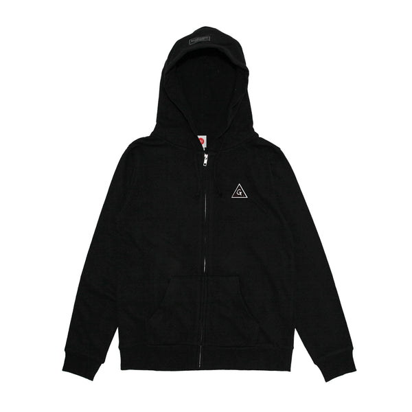 BLK ZIP-UP w/GMGP