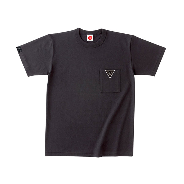 BLK POCKET T-SHIRT w/GMGP