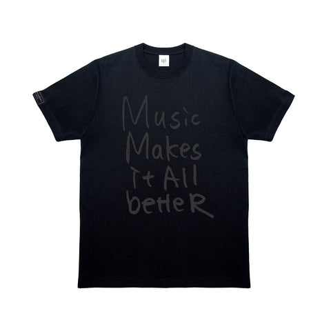MMIB DARK GREY LOGO BLK T-SHIRT