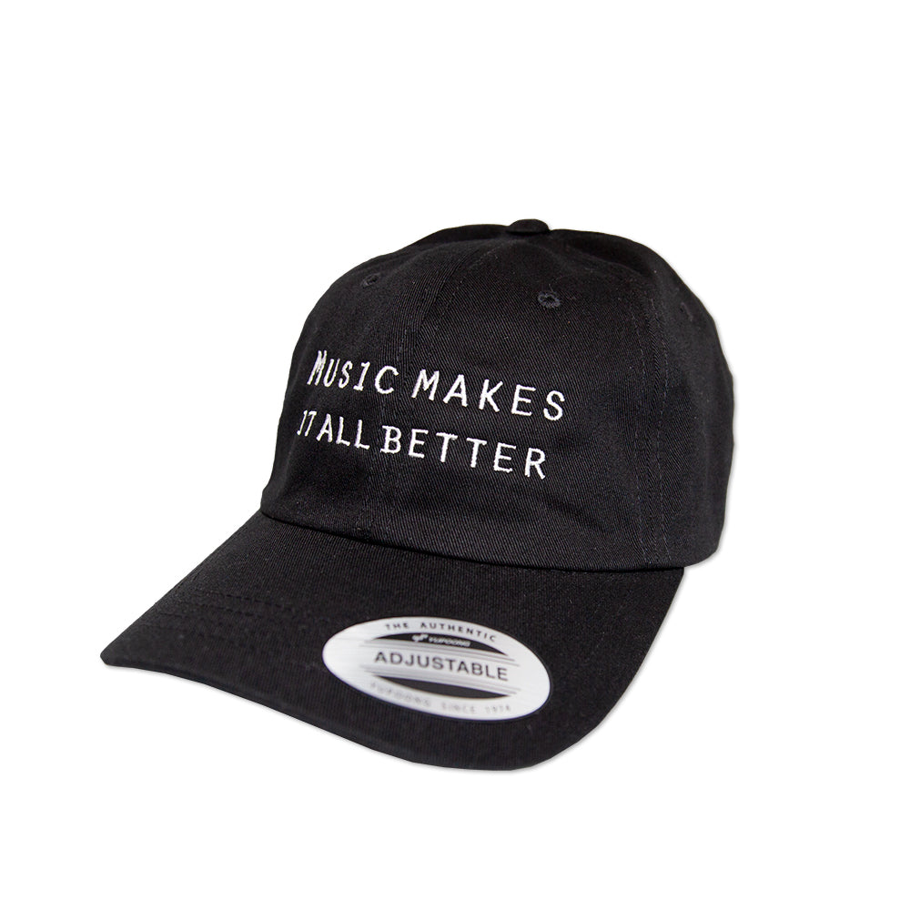 MMIB WHITE DAD CAP