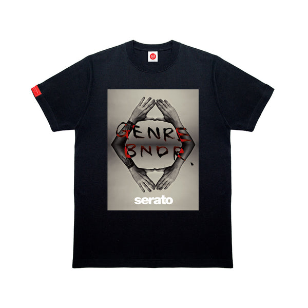 SERATO COLLAB BB HANDS BLK T-SHIRT