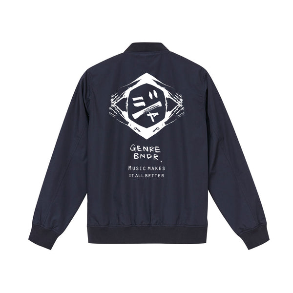 GB EMBLEM NVY STADIUM JACKET w/JAH
