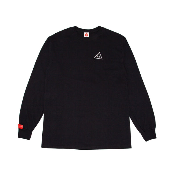 GB BLACK LONG-SLEEVE w/katakamuna RED